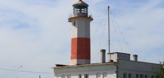 Бердянская коса маяк