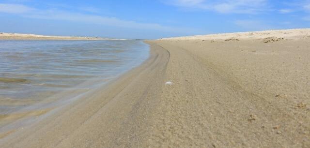 Бердянская коса пляжи